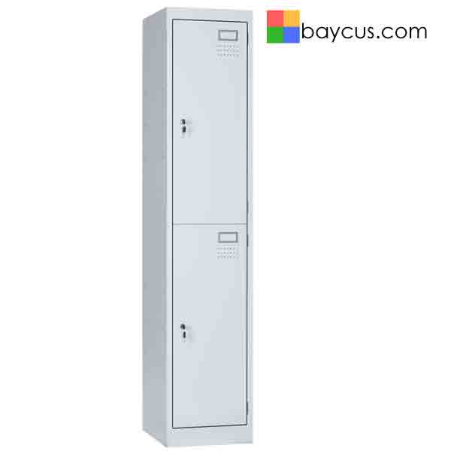 BY-BW2 2 Compartment Steel Locker