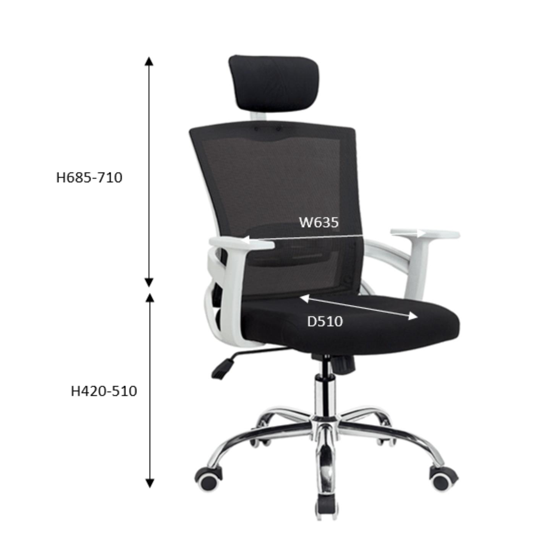 QUARTZ Mesh Chair