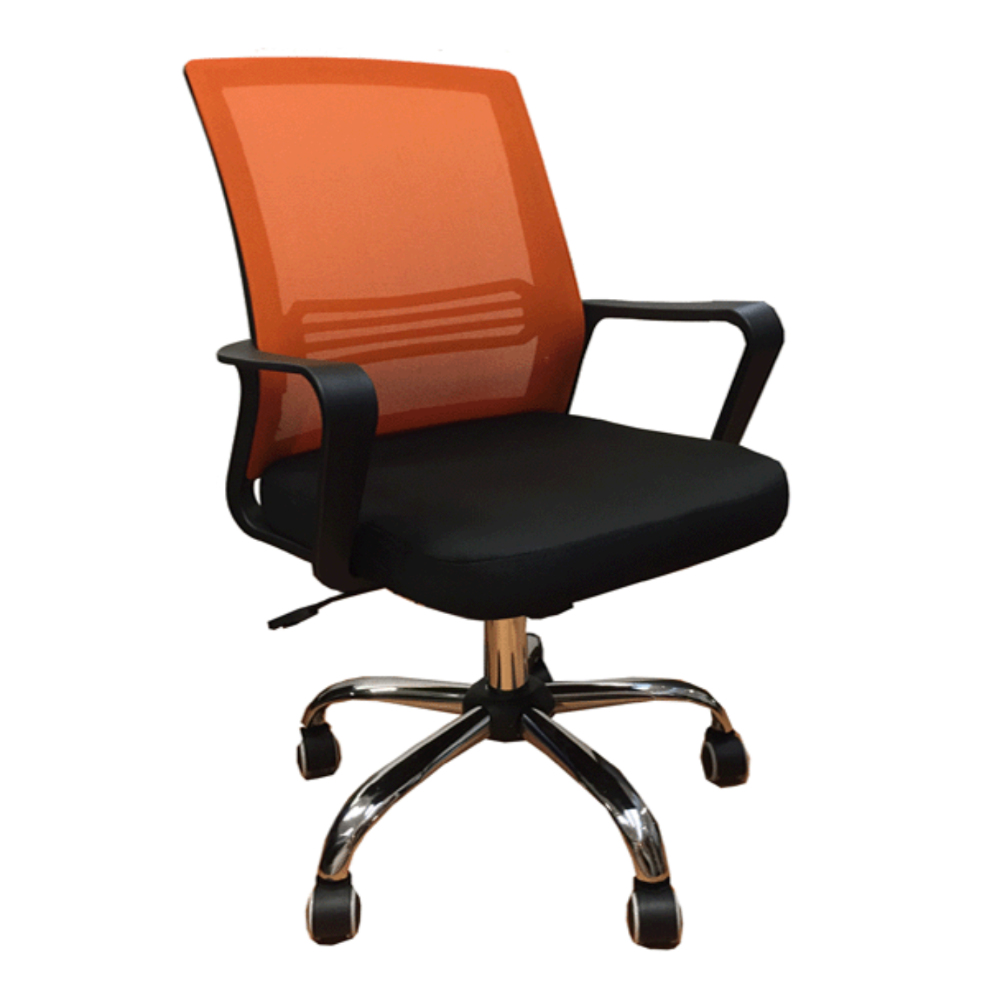 QUARTZ II Mesh Chair (Orange)