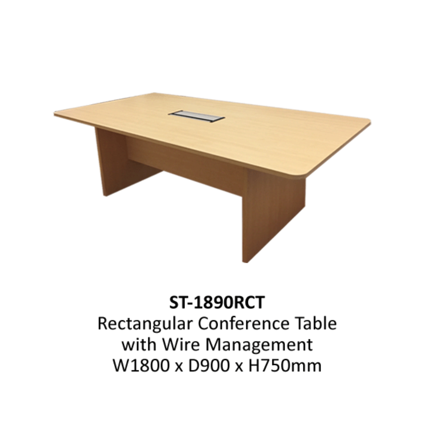 1.8m Rectangular Conference Table