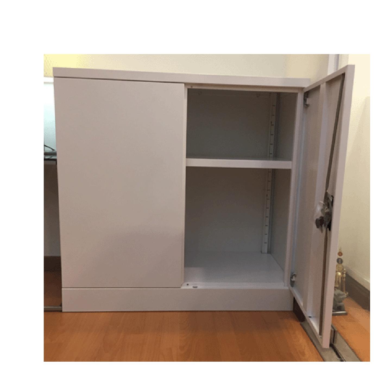 Half Height Swing Door Cabinet (2 Tiers)