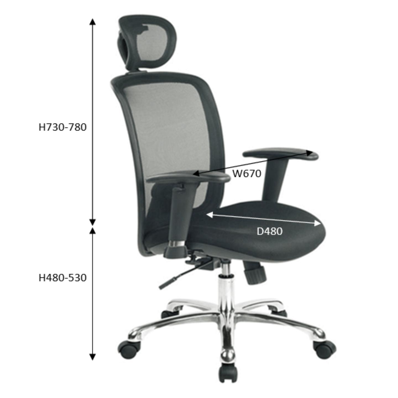 LAZULI Ergonomic Mesh Chair