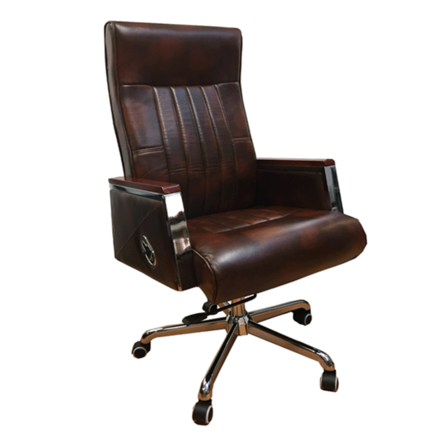 ROYAL Director Chair (PU Leather Brown)