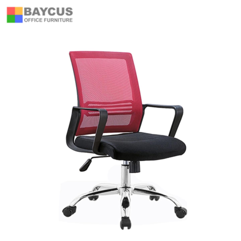 Quartz II Low Back Mesh Chair (Red)