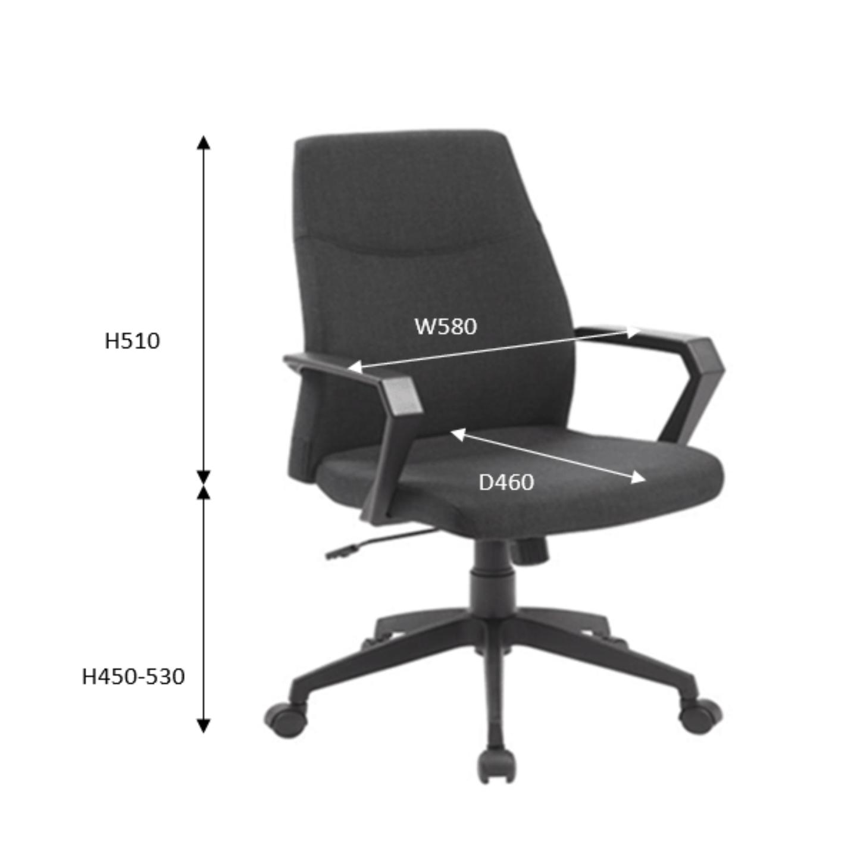 TOURMA Low Back Chair