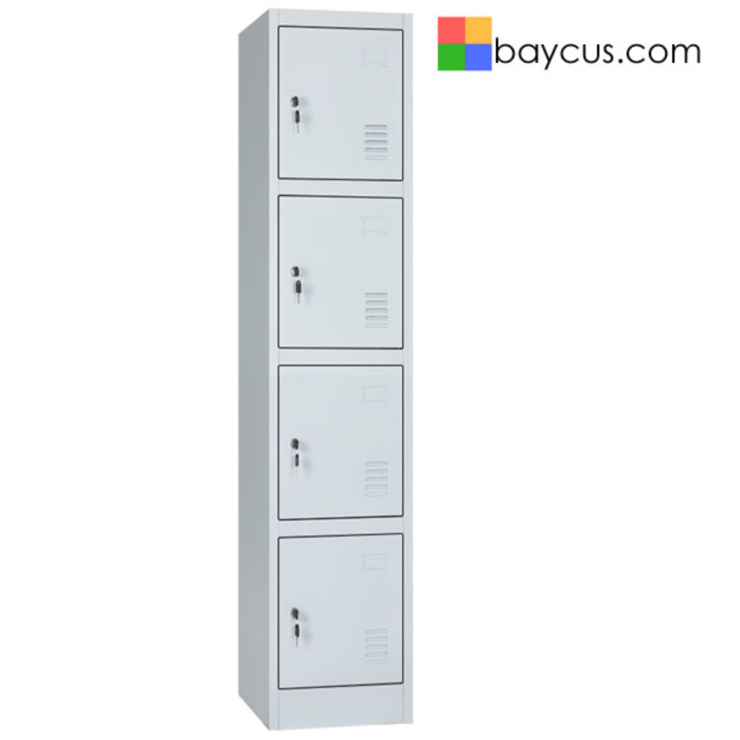 BY-BW 4 Compartment Locker