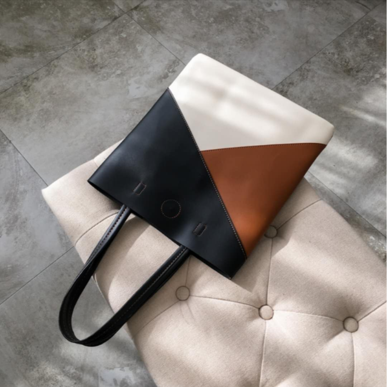 Korean style pvc tote bag