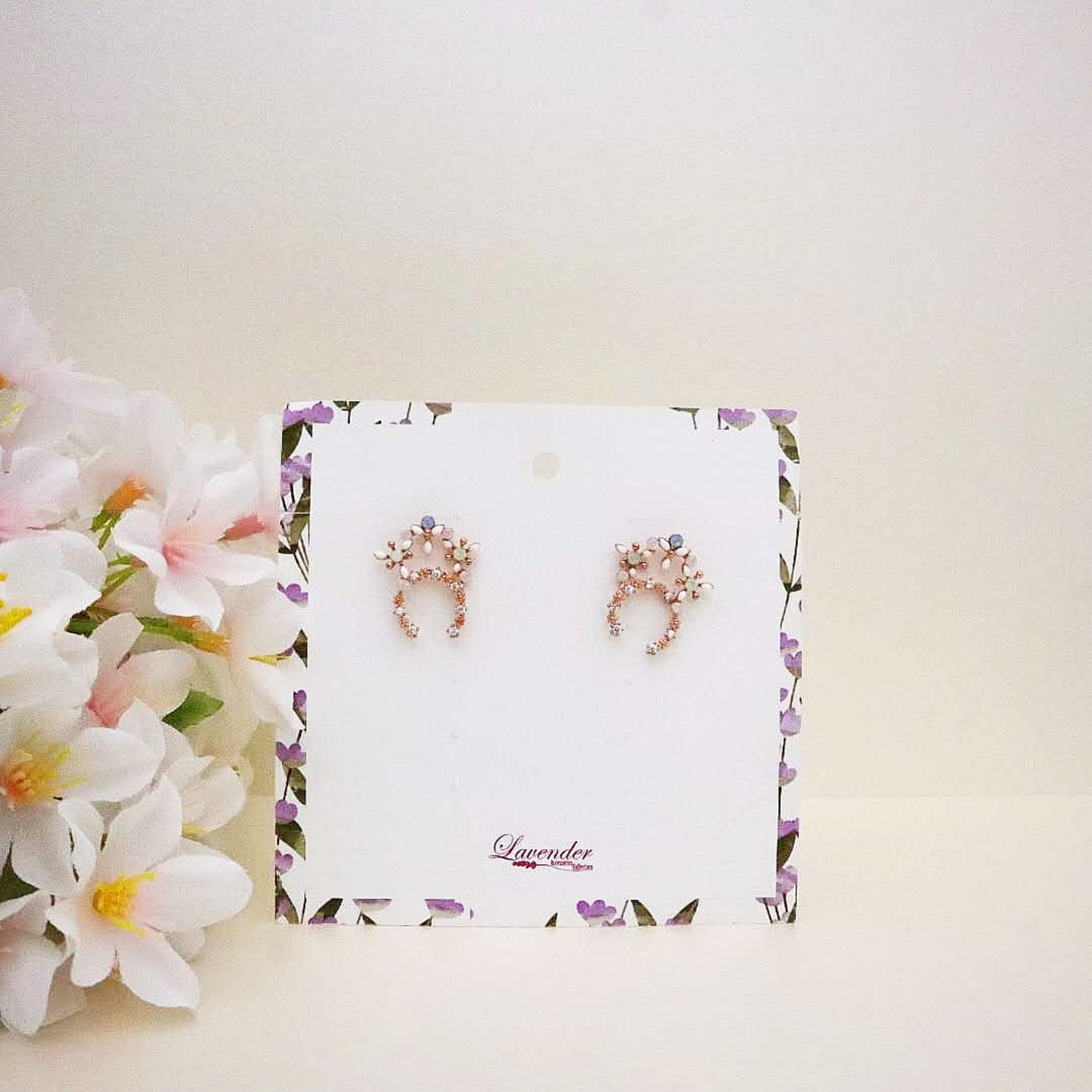 Korean Crystal Earrings