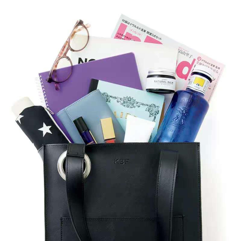 Japan style PU tote bag