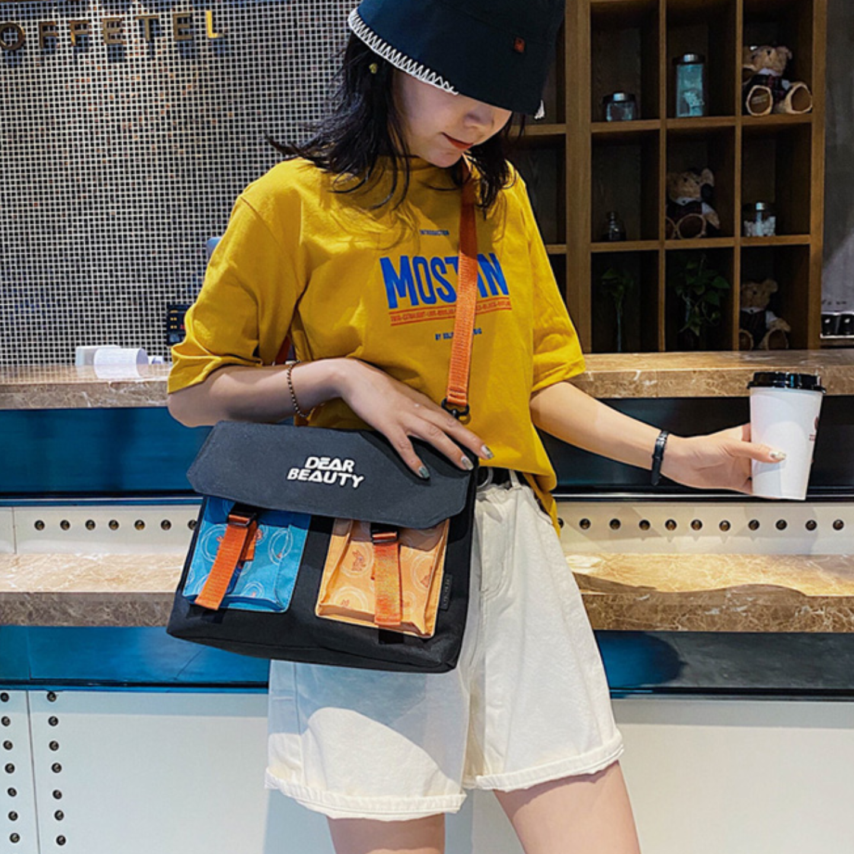 2020 new trendy female bag simple Japanese style bag