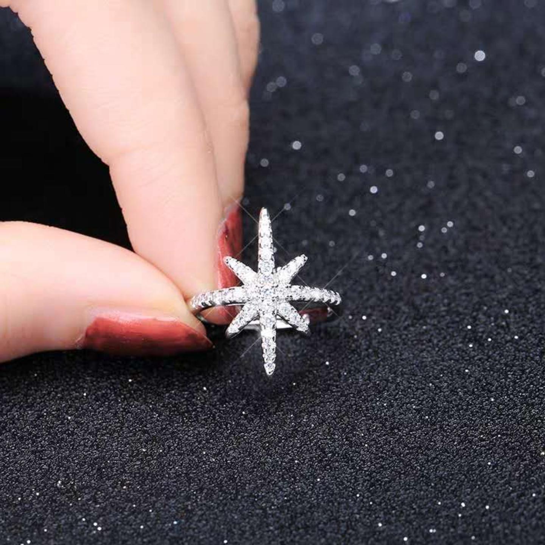 Fashion start diamond rings