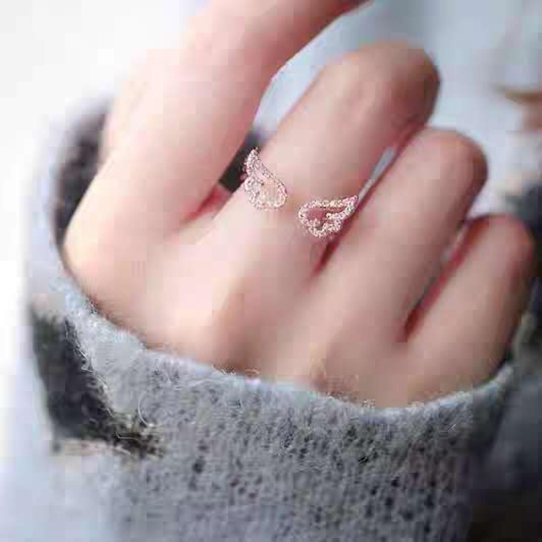 Wing Diamond Rings