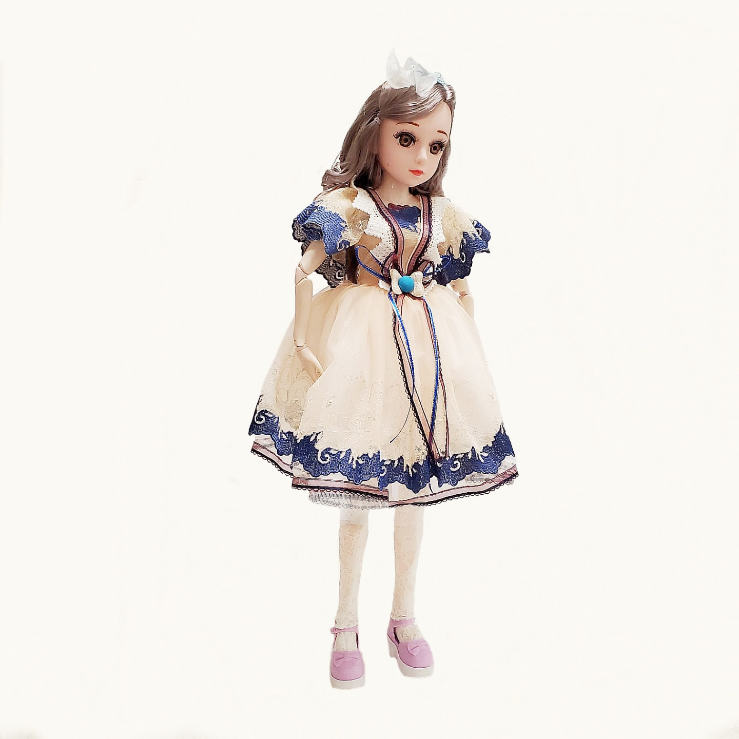 Doll girl toy birthday gift princess palace models ancient 60cm