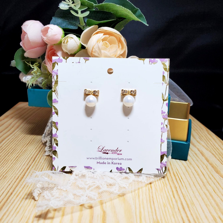 Korean Pearl Earring