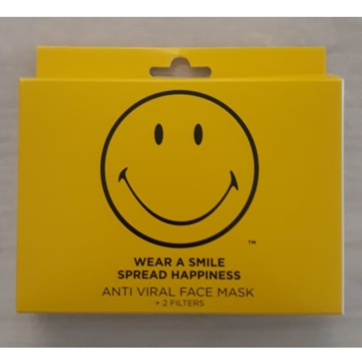 Pack of 3 Smiley Face Mask