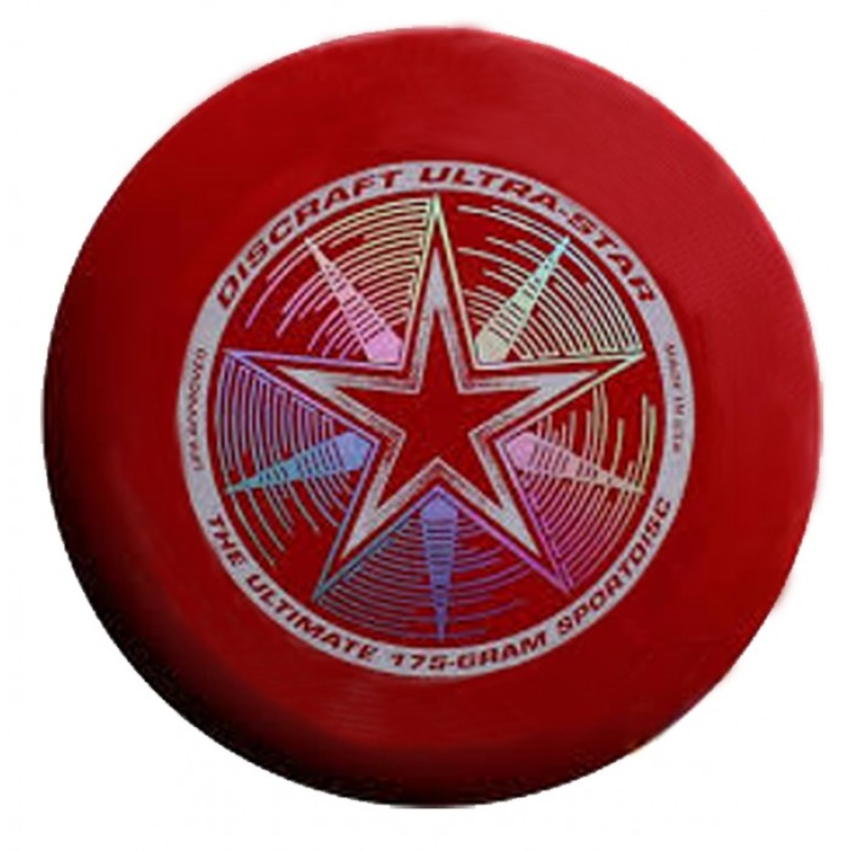 Dark Red Discraft Ultrastar