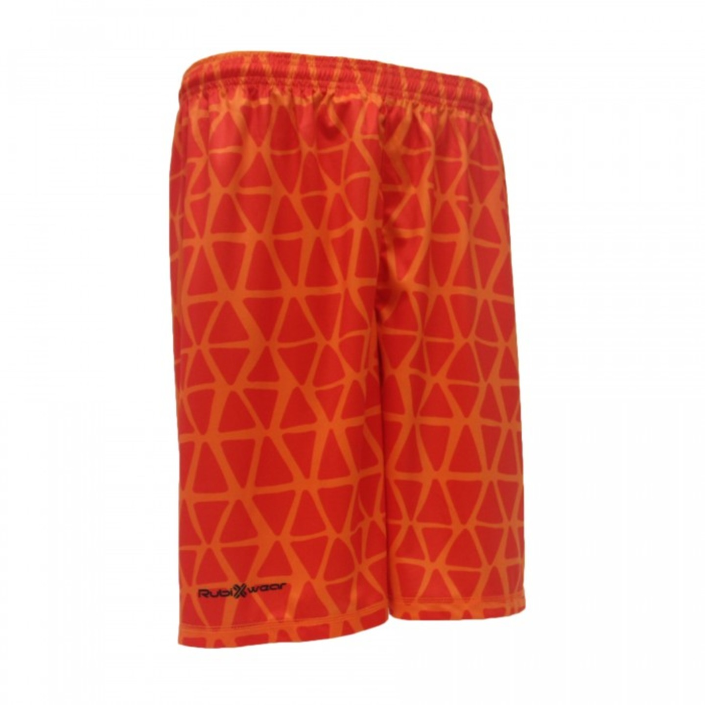 Orange Web Sublimated Shorts