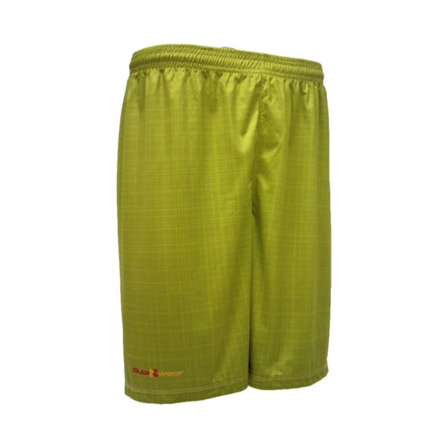 Green Grid Sublimated Shorts