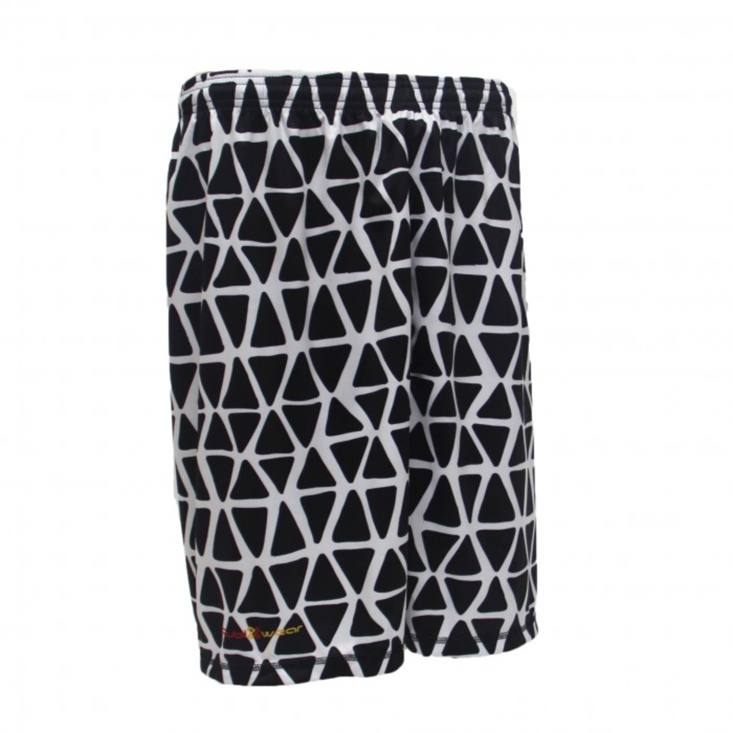 Black Web Sublimated Shorts