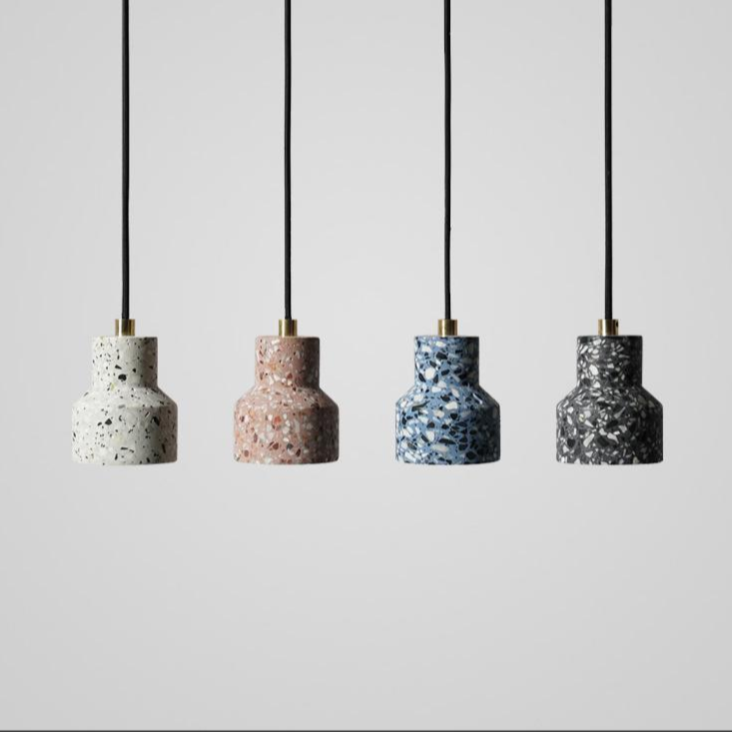 Cement Dot Pendant Light
