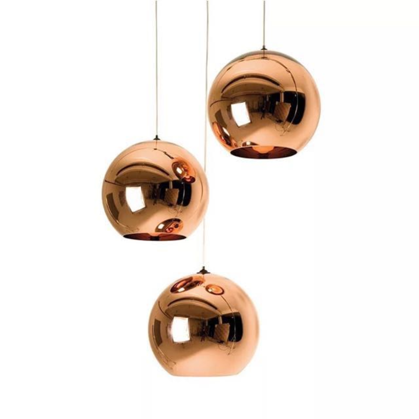Reflective Globe Pendant Light