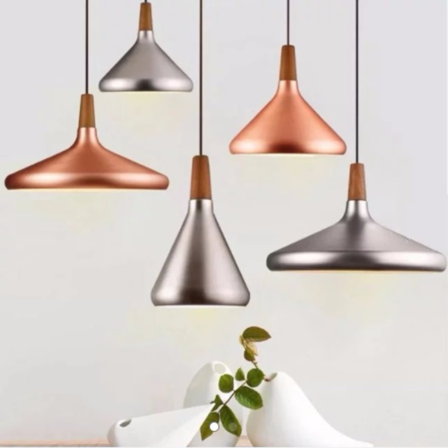 Funnel Pendant Light (3 Designs)