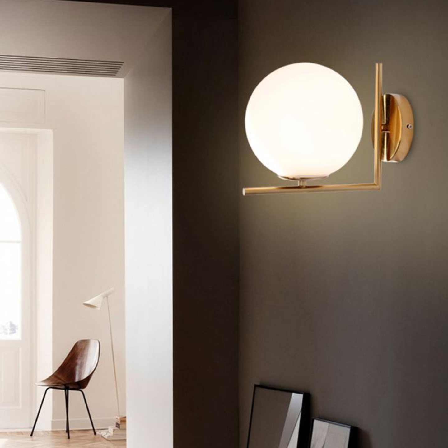 Sunshine Globe Wall Lamp