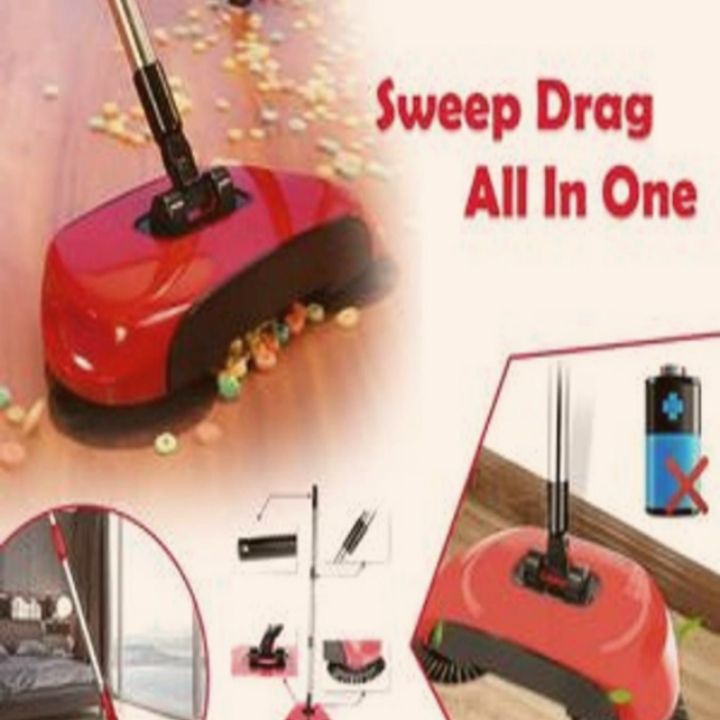 Auto Spin Hand Push Sweeping Broom