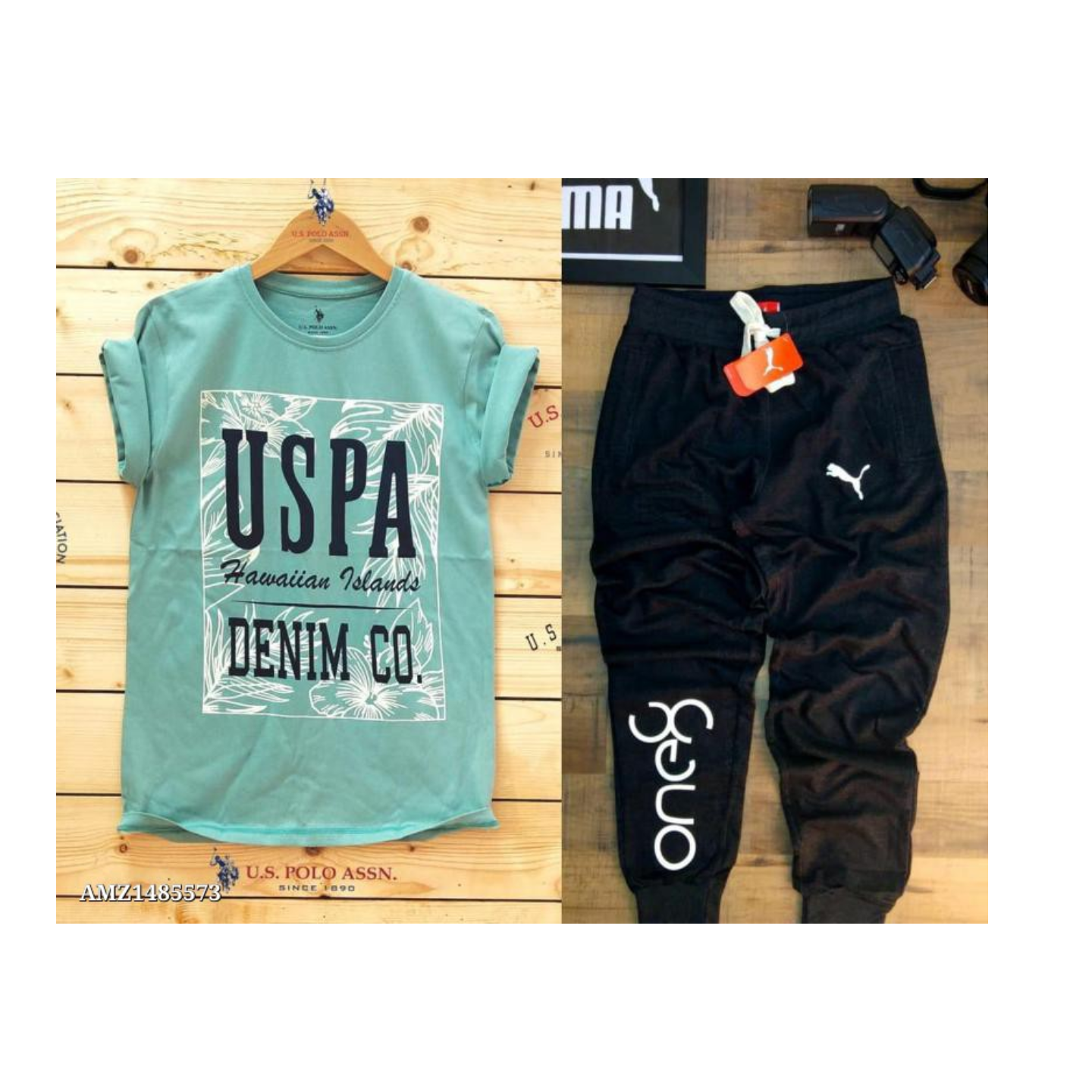 Branded T-Shirt and Track pant combo
