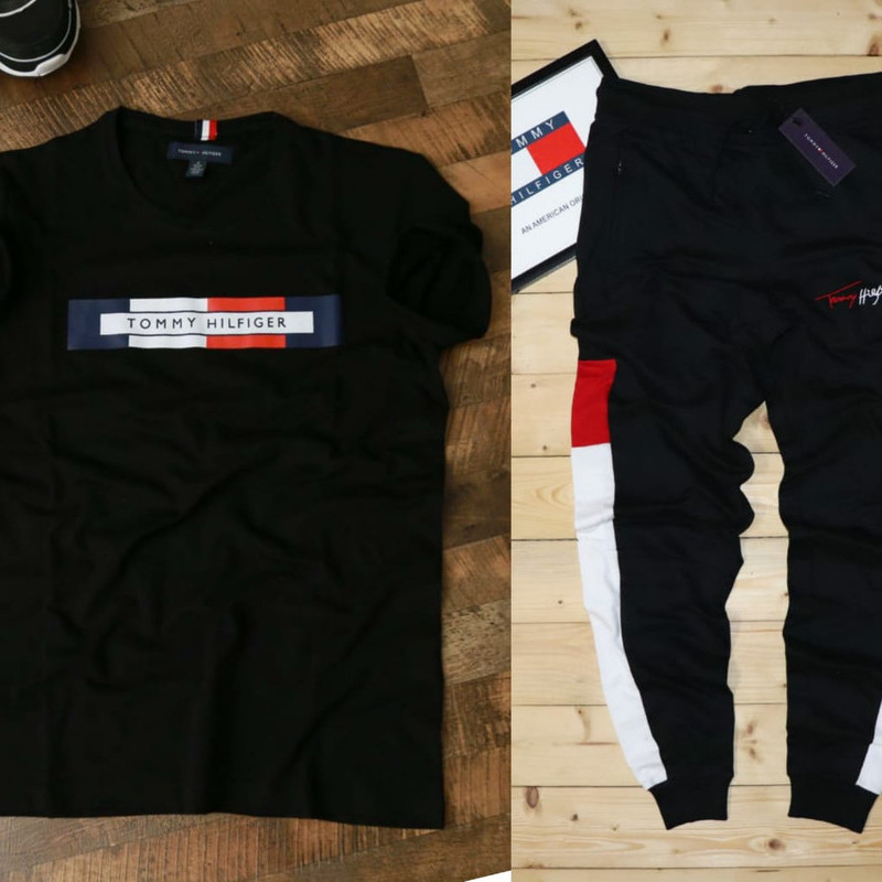 Branded Tshirt + Track Pant combo