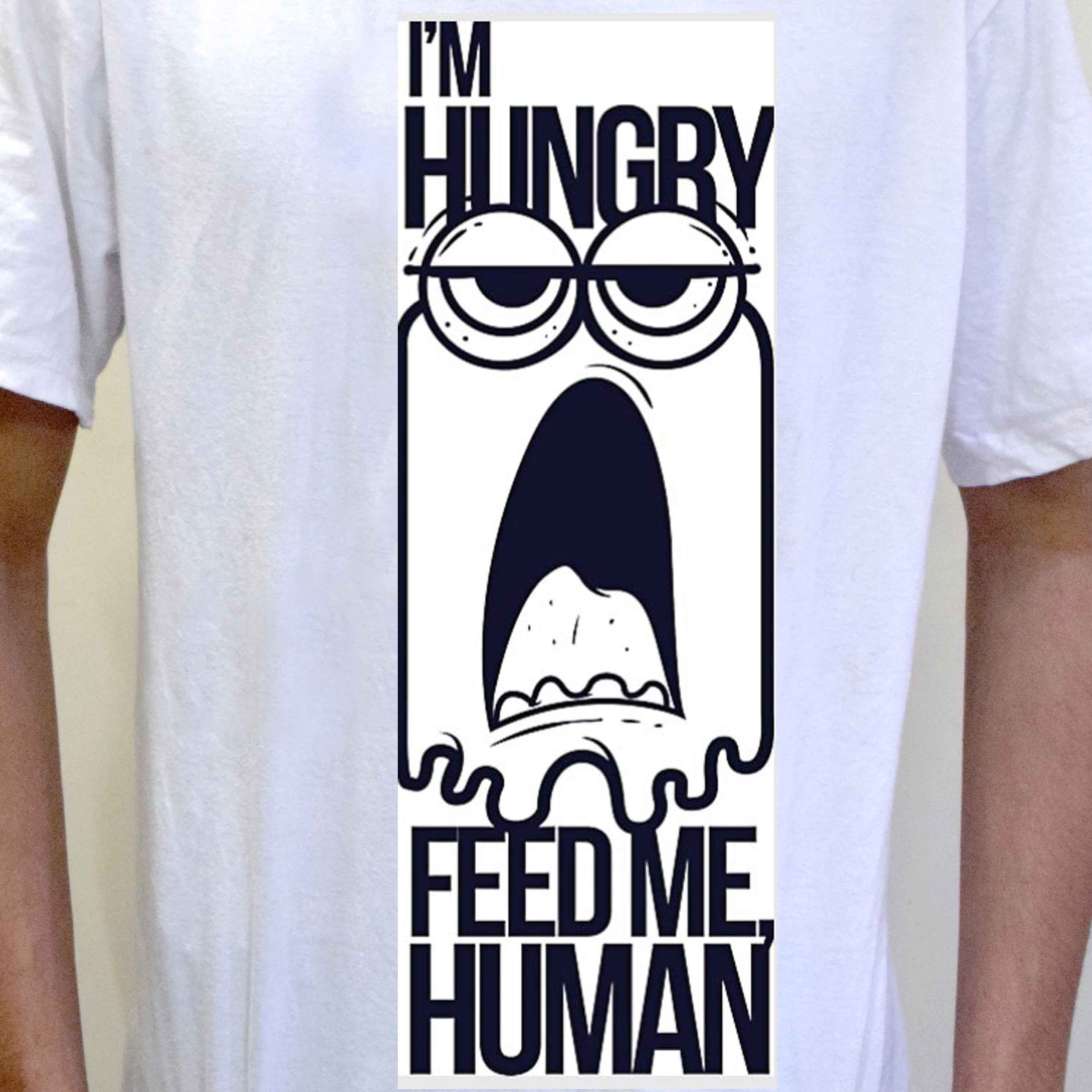 Feed me humans now!