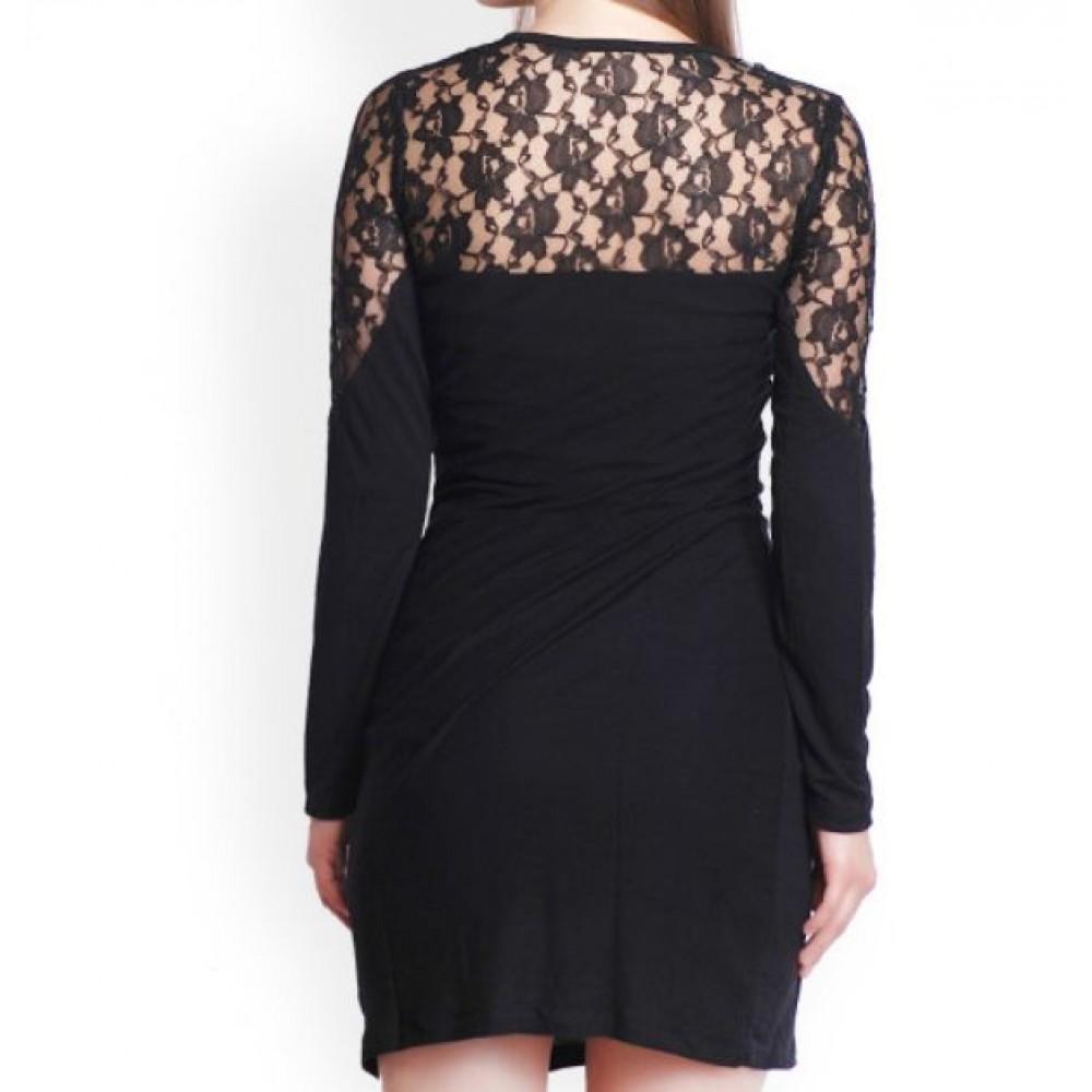 La  Facon-black-bodycon-dress