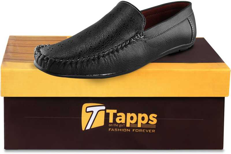 Men's Casual Loafers Shoes Loafers For Men(Black)