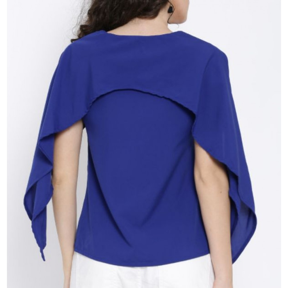 La  Facon-blue-layered-top