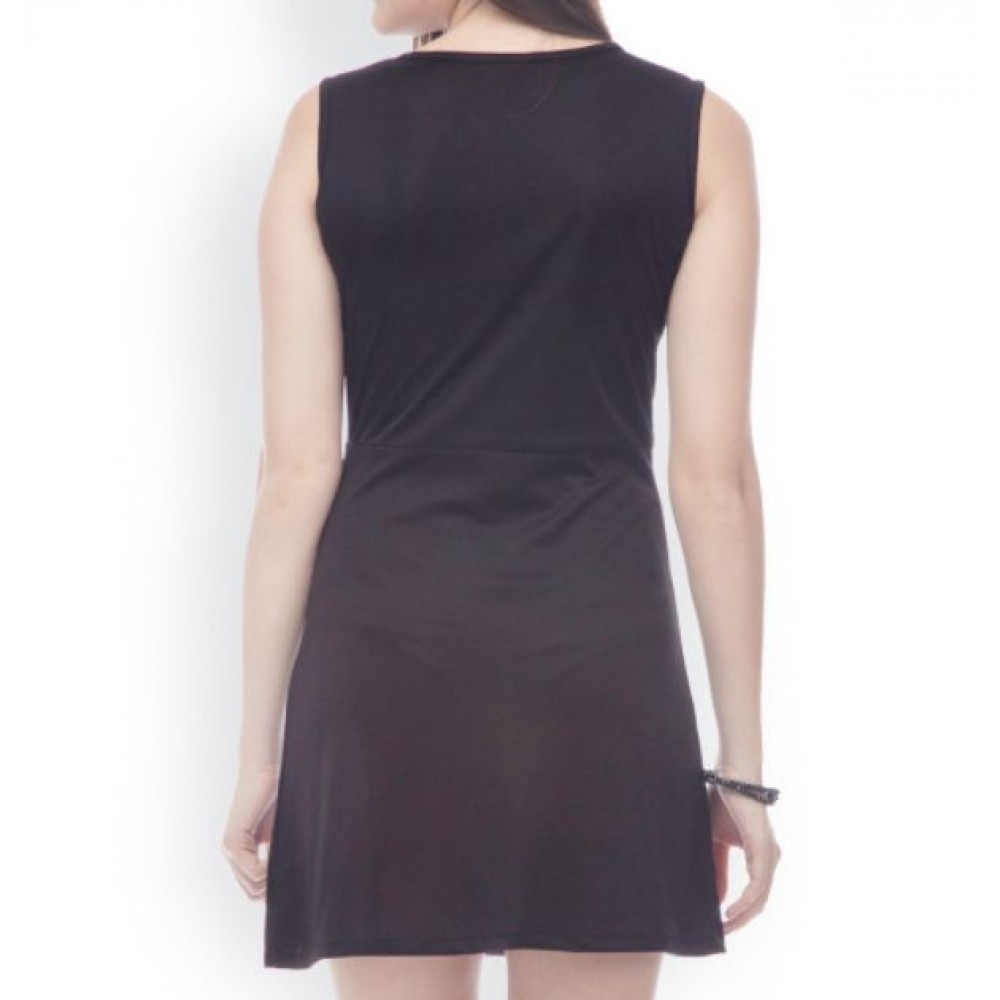 La Facon-blue--black-sheath-dress