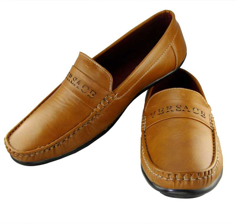 Men's Casual Loafers Loafers For Men(Tan)