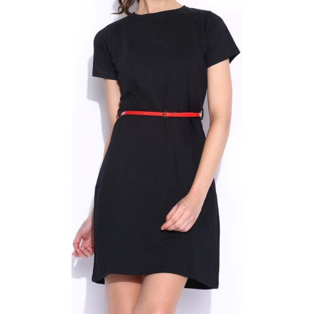 La Facon-black-belted-dress
