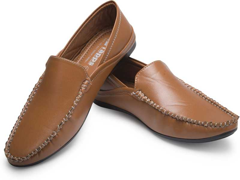 Stylish Casual Shoes Loafers For Men(Brown)