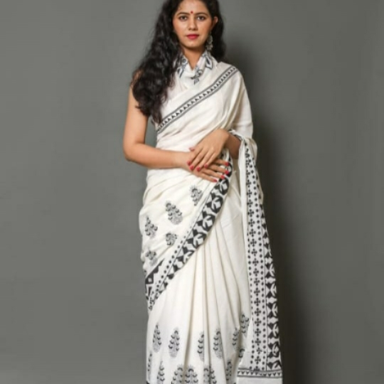 Jaipuri cotton sarees