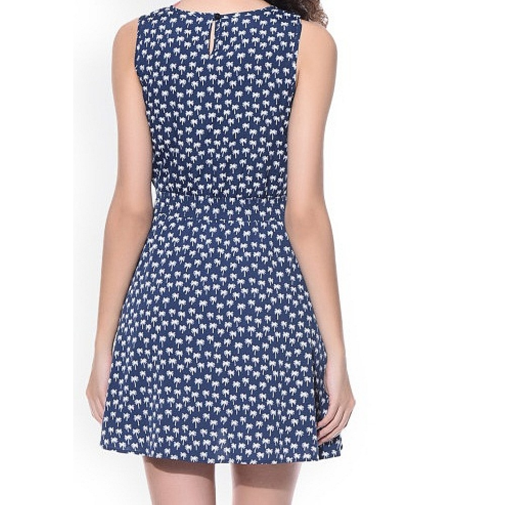 La Facon-Black & White Printed Sheath Dress