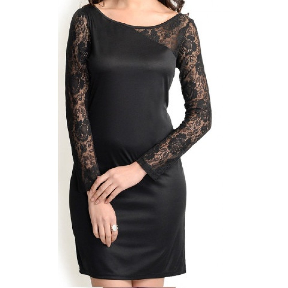 La Facon-black-bodycon-dress