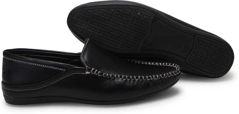Stylish Casual Shoes Loafers For Men(Black)
