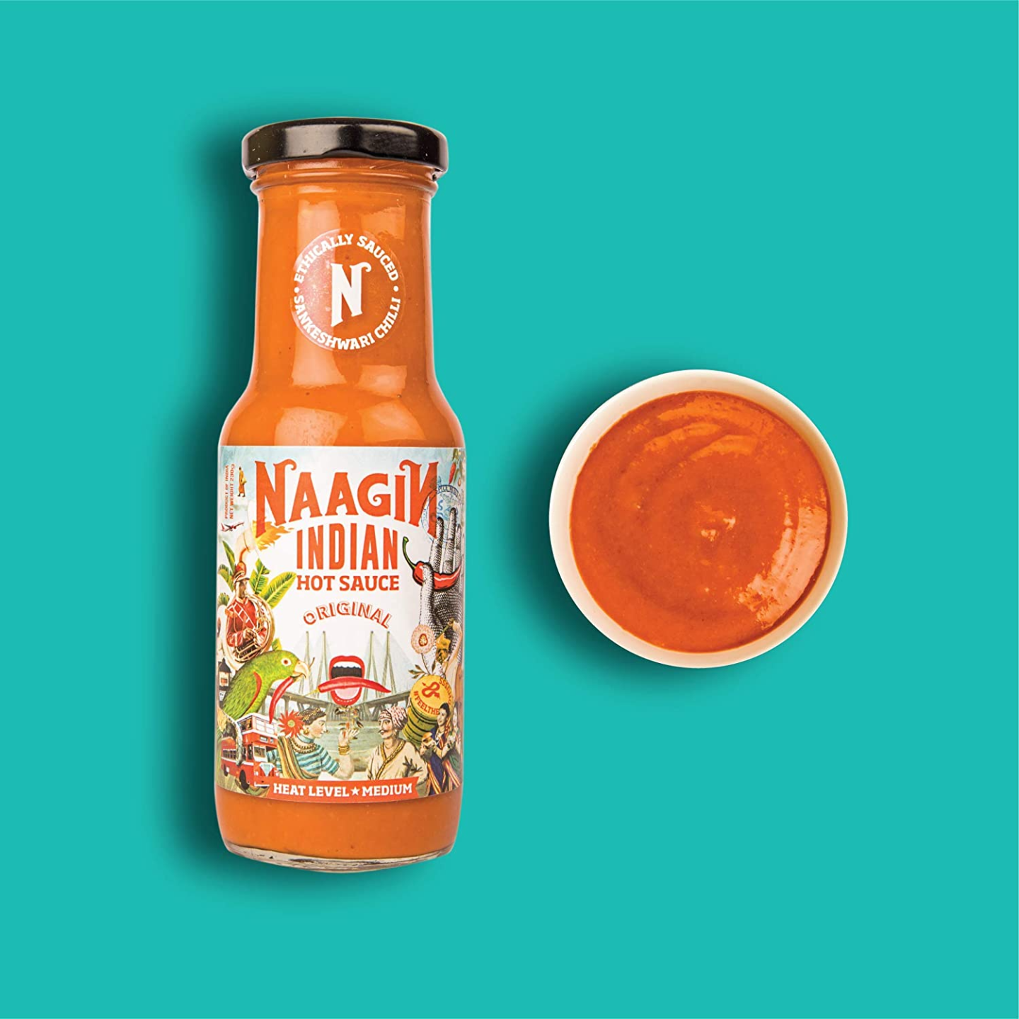 Naagin Original Indian Hot Sauce (230g)
