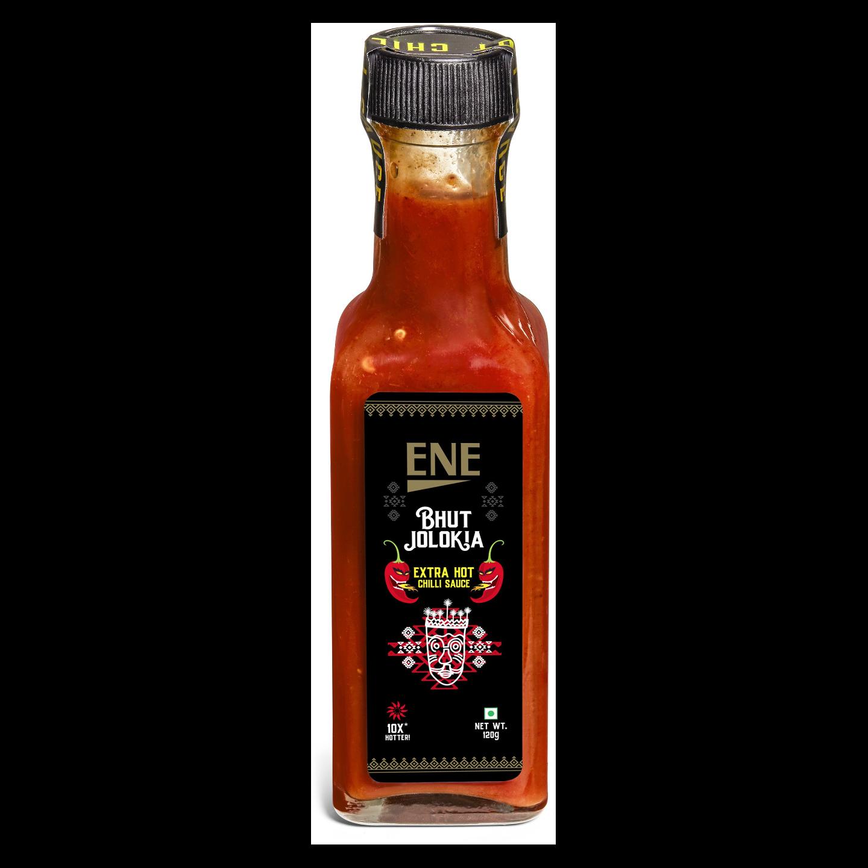 ENE Bhut Jolokia Ghost Pepper Extra Hot Chilli Sauce
