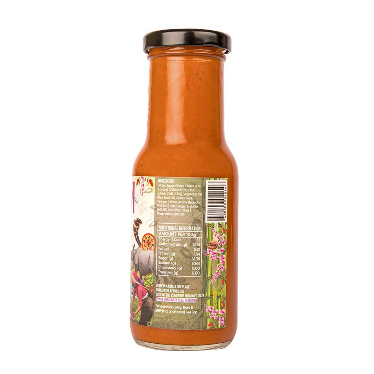 Naagin Bhoot Indian Hot Sauce 230g