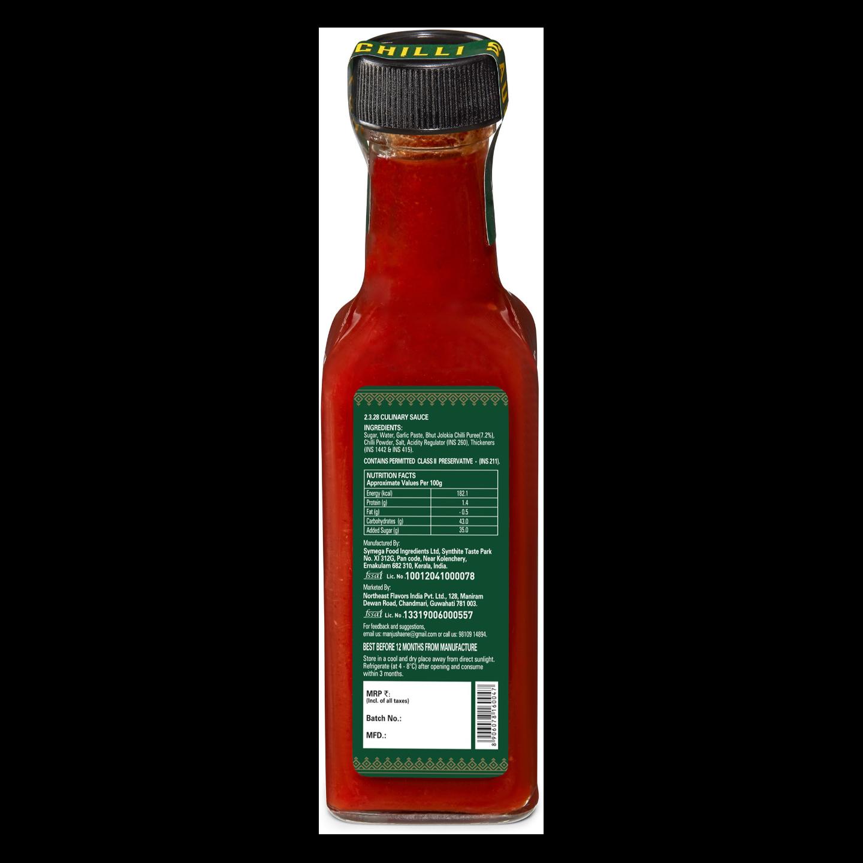 ENE Bhut Jolokia Ghost Pepper Hot Chilli Sauce 120ml
