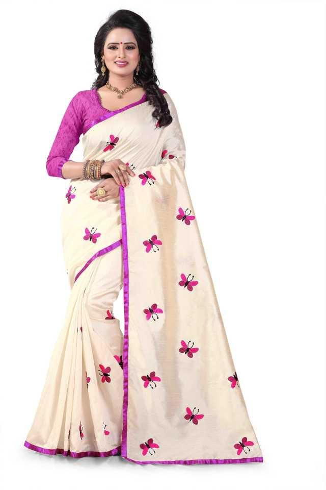 Pretty Pink Silk Printed Regular Saree