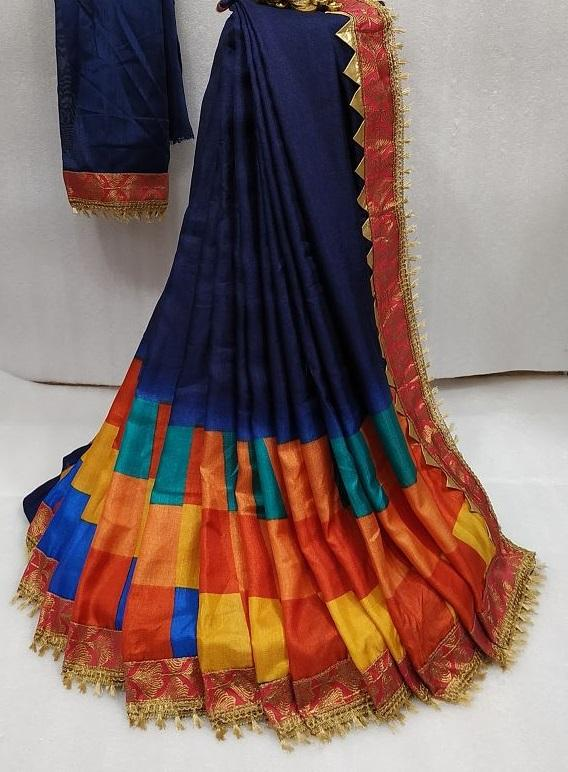 Khadi Cotton Zari Border Regular Saree