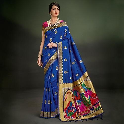 zari cotton saree