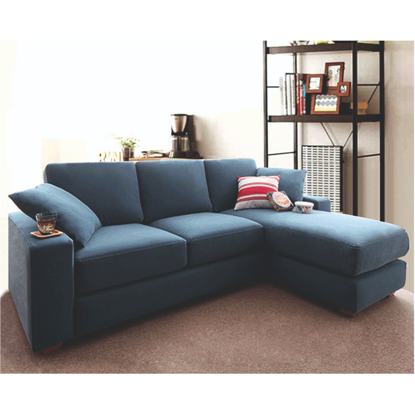 Tina Left Side Lounger Sofa (FC45)